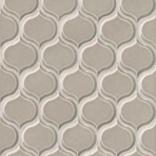 "Provincetown 3-1/16"" x 2-7/8"" Wall Mosaic in Dune Beige"