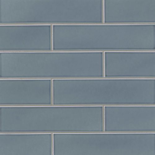 "Provincetown 4"" x 16"" Floor & Wall Tile in Harbor Blue"