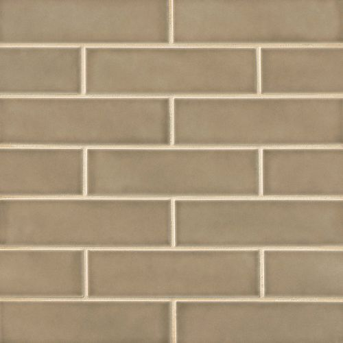 "Provincetown 2.5"" x 9"" Floor & Wall Tile in Highland Brown"