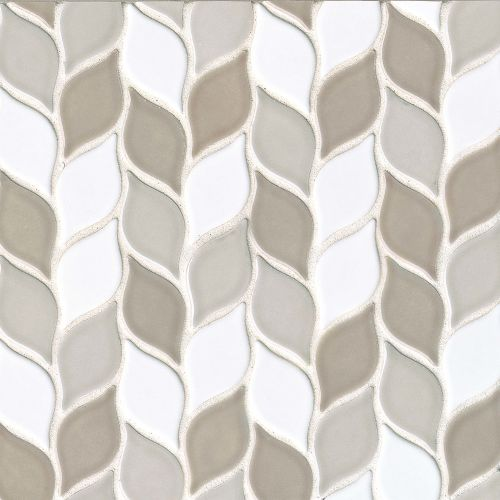 "Provincetown 2-13/16"" x 1-7/16"" Floor & Wall Mosaic in Race Point Blend"