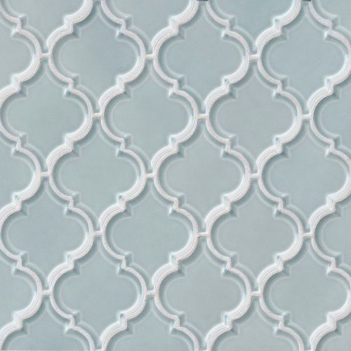 "Provincetown 5-1/8"" x 4-1/16"" Wall Mosaic in Surfside Blue"
