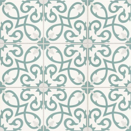 "Remy 8"" x 8"" Floor & Wall Tile in Oasis"
