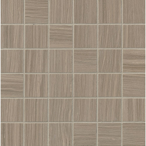 "Matrix 2"" x 2"" Floor & Wall Mosaic in Taupe Blend"