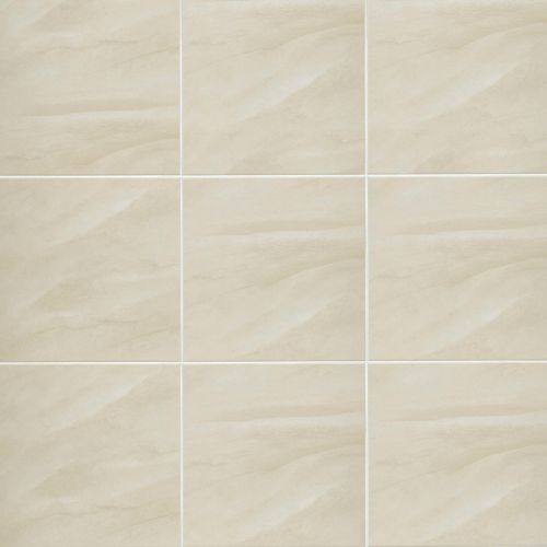 "Serenity 12"" x 12"" Floor & Wall Tile in Beige"