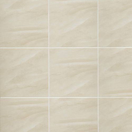 "Serenity 18"" x 18"" Floor & Wall Tile in Beige"