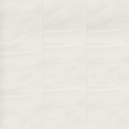 "Serenity 12"" x 12"" Floor & Wall Tile in White"