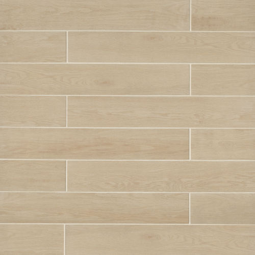 Woodmark 6.1300 x 35.6900 Floor & Wall Tile in Light Oak