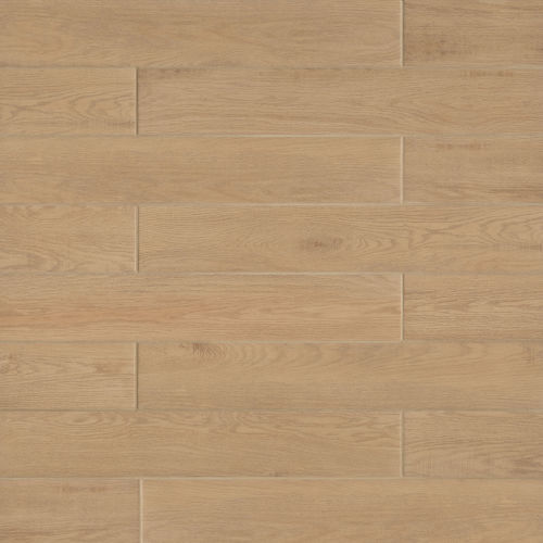 "Woodmark 6.13"" x 35.69"" Floor & Wall Tile in Oak"