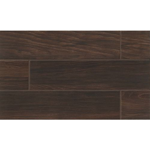 "Napa 6"" x 24"" Floor & Wall Tile in Walnut"