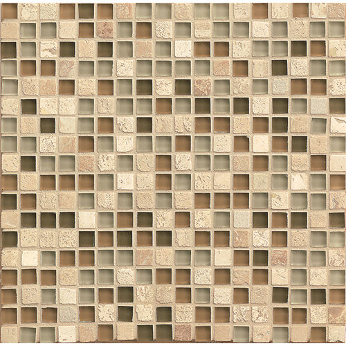 "Eclipse 5/8"" x 5/8"" Wall Mosaic in Allure"