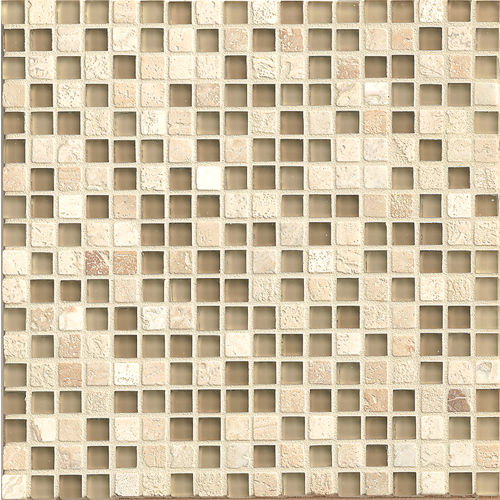 "Eclipse 5/8"" x 5/8"" Wall Mosaic in Dunes"