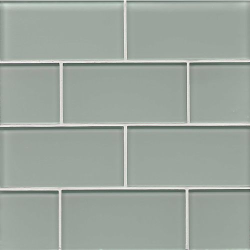"Hamptons 3"" x 6"" Wall Tile in Surf"