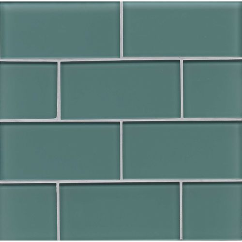 "Hamptons 3"" x 6"" Wall Tile in Wave"