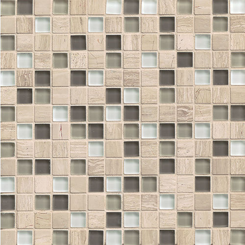 "Interlude 3/4"" x 3/4"" Wall Mosaic in Stacatto"