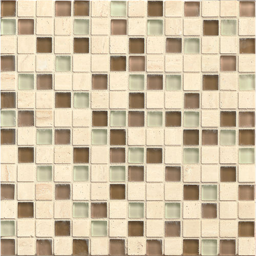 "Interlude 3/4"" x 3/4"" Wall Mosaic in Treble"