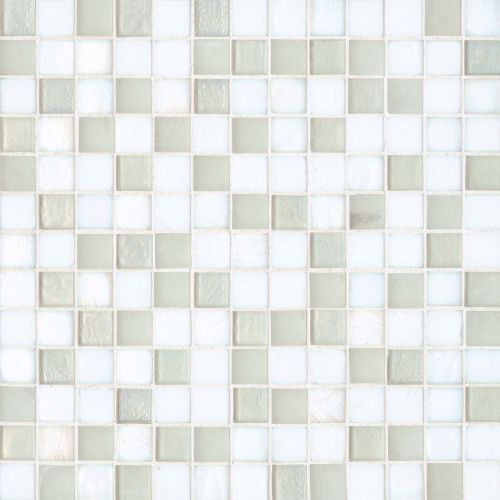 "Kahakai 7/8"" x 7/8"" Floor & Wall Mosaic in Coconut"