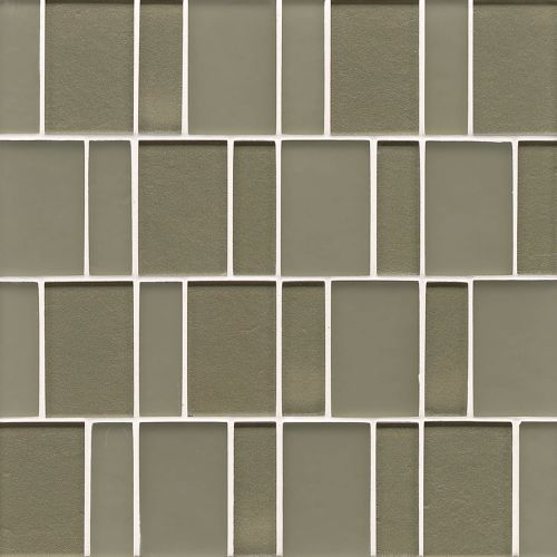 Manhattan Wall Mosaic in Mint