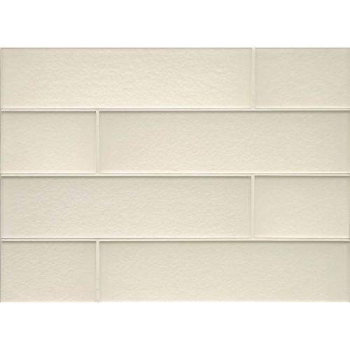 "Manhattan 4"" x 16"" Wall Tile in Pearl"