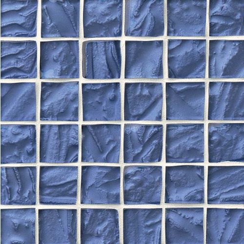 "Priscilla 1-7/8"" x 1-7/8"" Wall Mosaic in Sky Blue"