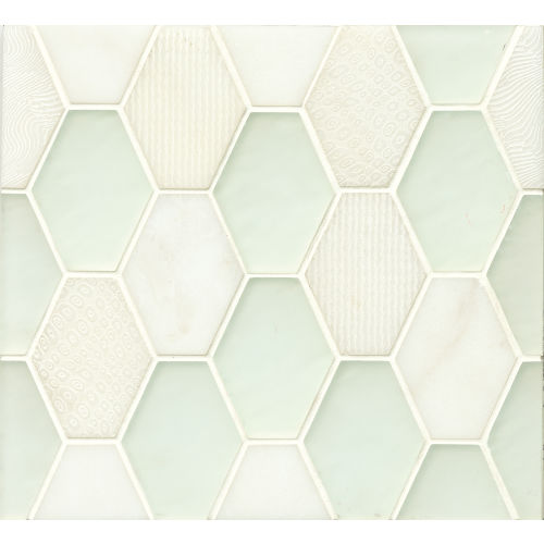 Panache Wall Mosaic in Silk