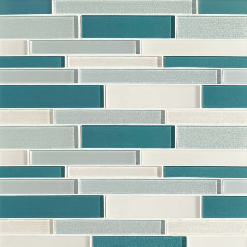 Verve Wall Mosaic in Calypso