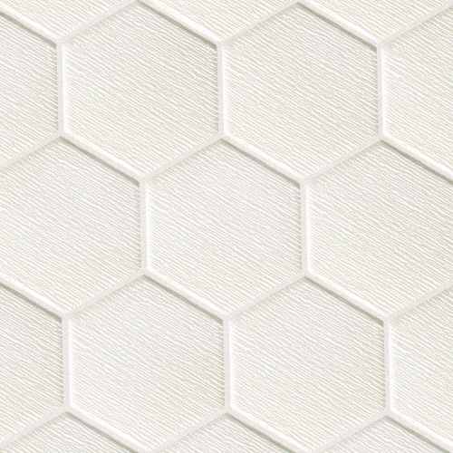 "Verve 4-7/8"" x 5-5/8"" Wall Mosaic in Cloud Nine"