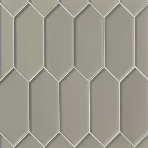 Verve Wall Mosaic in Tinsel Grey