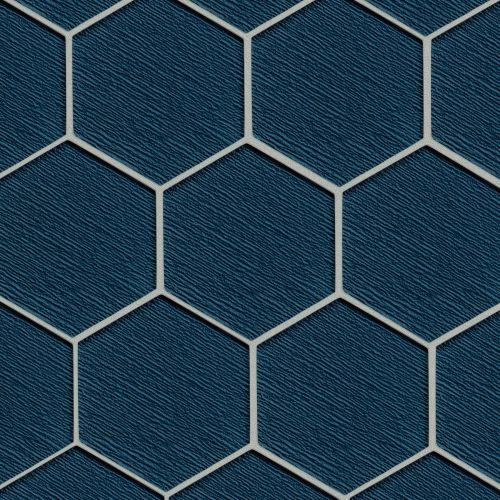 "Verve 4-7/8"" x 5-5/8"" Wall Mosaic in Twilight"