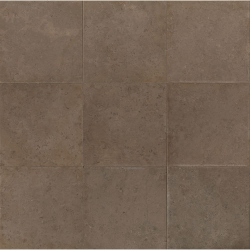 "Vogue Brown Brushed 12"" x 12"" Floor & Wall Tile"