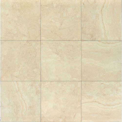 "Shady Canyon 18"" x 18"" Floor & Wall Tile in Almond"