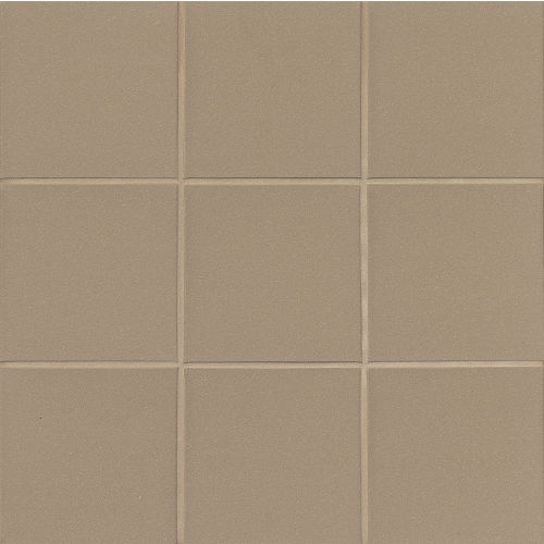 "Metropolitan 6"" x 6"" x 1/2"" Floor and Wall Tile in Plaza Gray"
