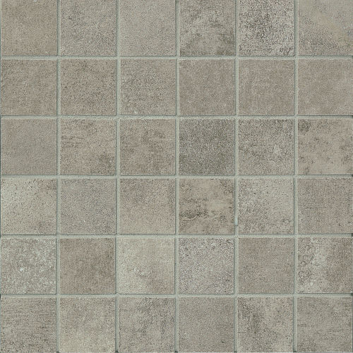 "Officine 2"" x 2"" Floor & Wall Mosaic in Dark (OF 03)"