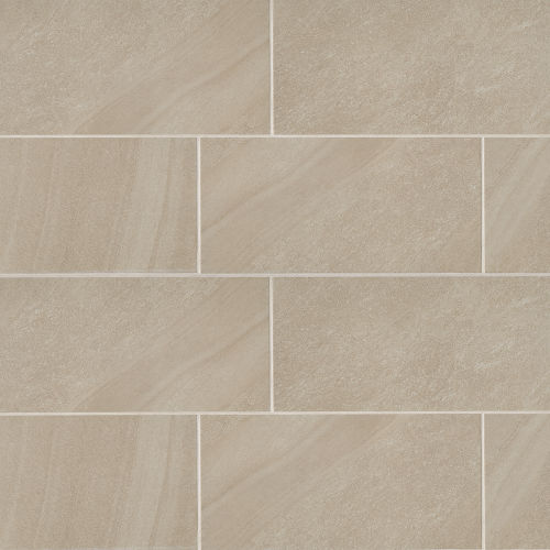 "Watermark 12"" x 24"" Floor & Wall Tile in Beige"