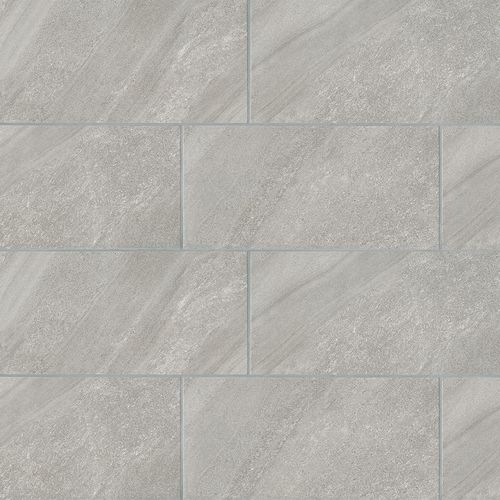 "Watermark 12"" x 24"" Floor & Wall Tile in Grey"