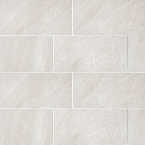 "Watermark 12"" x 24"" Floor & Wall Tile in Ivory"