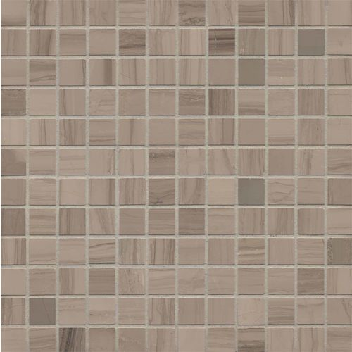 "Lennox Grey 1"" x 1"" Floor & Wall Mosaic"