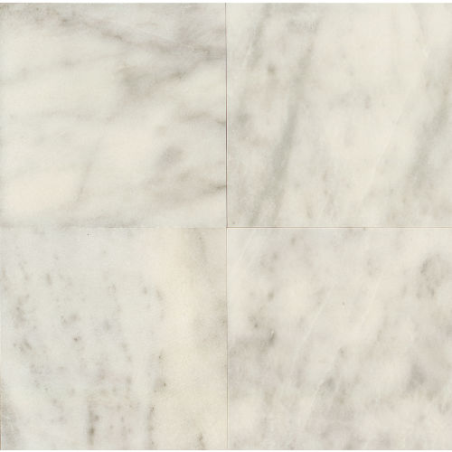 "Lydia White 24"" x 24"" Wall Tile"
