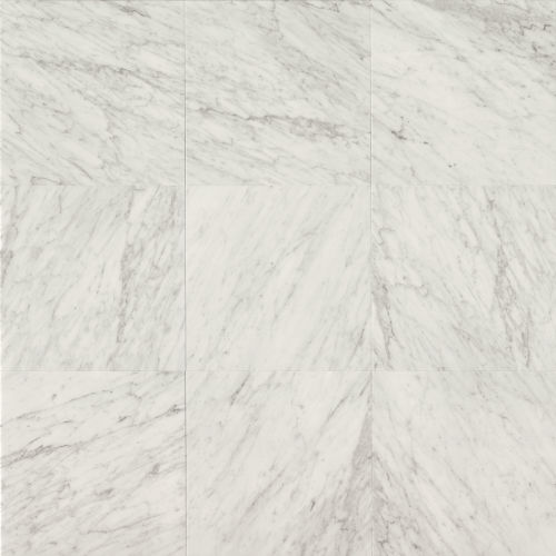 "White Carrara 18"" x 18"" Floor & Wall Tile"