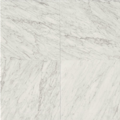 "White Carrara 24"" x 24"" Floor & Wall Tile"
