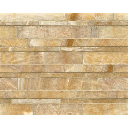 Sweet Honey Onyx Floor & Wall Mosaic