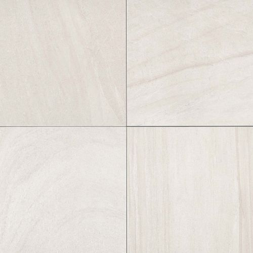 "Purestone 24"" x 24"" Floor & Wall Tile in Bianco"