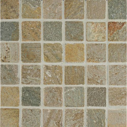 "Amber Gold 2"" x 2"" Floor & Wall Mosaic"