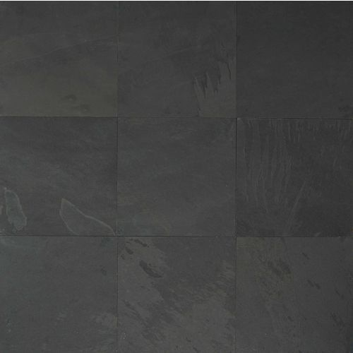 "Black Pearl 16"" x 16"" Floor & Wall Tile"