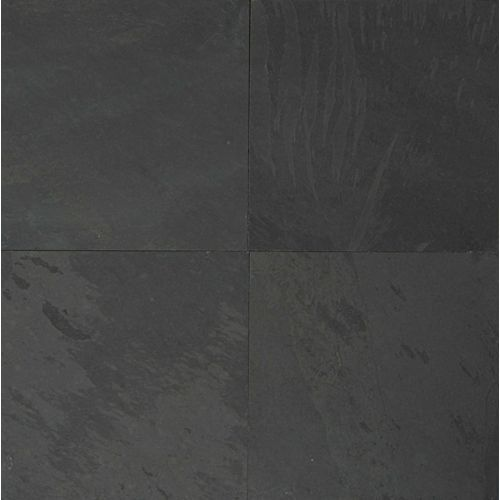 "Black Pearl 24"" x 24"" Floor & Wall Tile"