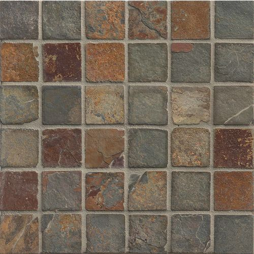 "Butterscotch 2"" x 2"" Floor & Wall Mosaic"