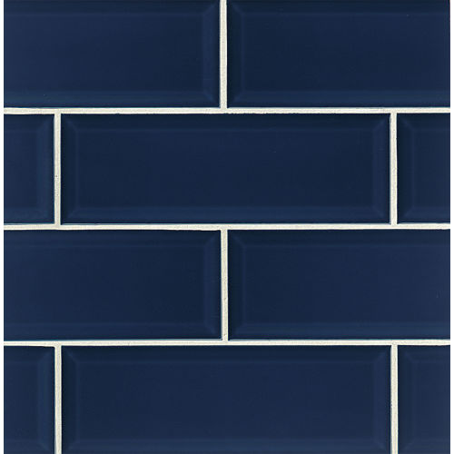 "Adamas 4"" x 12"" Wall Tile in Azura"