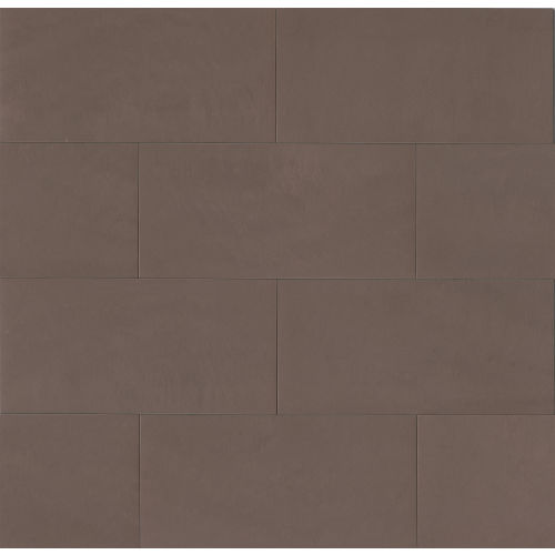 "Area 3D 12"" x 24"" x 3/8"" Floor and Wall Tile in Sage"