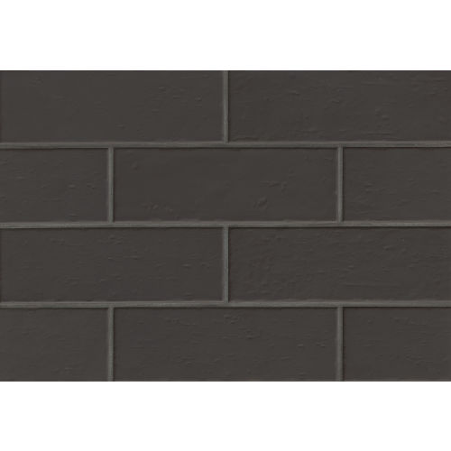 "Aura 4"" x 12"" Wall Tile in Jet"