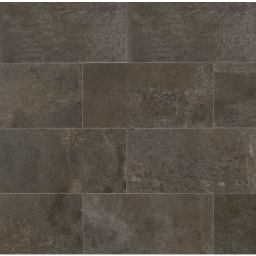 "Blende 24"" x 48"" Floor & Wall Tile in Piceous"