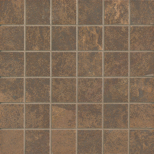 "Blende 2"" x 2"" Floor & Wall Mosaic in Titian"